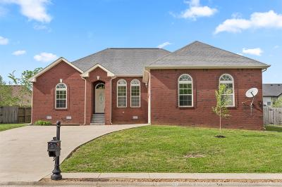 Clarksville TN Single Family Home For Sale: $220,000