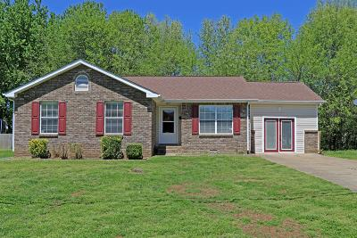 Clarksville TN Single Family Home For Sale: $151,000