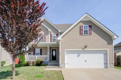 Clarksville Single Family Home For Sale: 3596 Fox Tail Ct