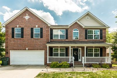 Gallatin Single Family Home Under Contract - Not Showing: 629 Smoky Mountains Dr