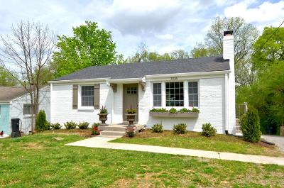 Nashville Single Family Home For Sale: 2326 Dennywood Dr