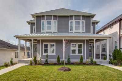 Nashville Single Family Home Under Contract - Showing: 1825 A 5th Avenue North