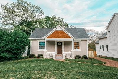 Nashville Single Family Home For Sale: 1846 Joy Cir