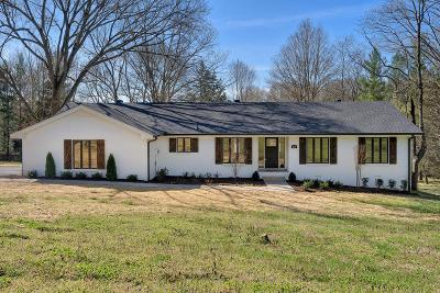 Hendersonville Single Family Home For Sale: 106 Fawn Ct