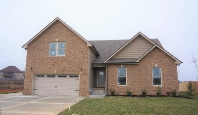 Clarksville Single Family Home Under Contract - Showing: 503 Autumnwood Farms