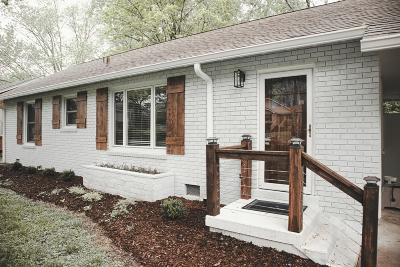 Nashville Single Family Home Under Contract - Showing: 3609 Doge Pl
