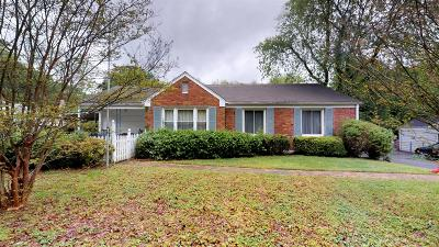 Nashville Single Family Home For Sale: 712 Currey Road