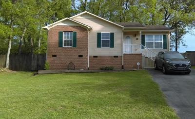 Maury County Single Family Home Under Contract - Not Showing: 211 Valley Dr