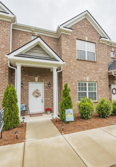 Murfreesboro Condo/Townhouse For Sale: 821 General Westmoreland
