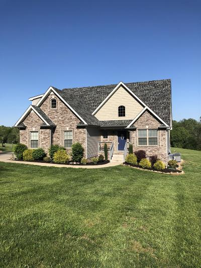 Clarksville Single Family Home Active Under Contract: 4075 Chapel Hill Rd