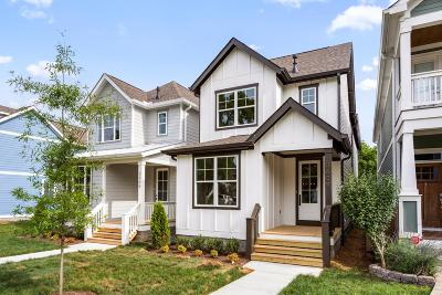 Nashville Single Family Home For Sale: 5609B Tennessee Ave