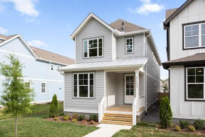 Nashville Single Family Home Active Under Contract: 5609A Tennessee Ave