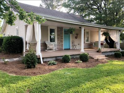 White House Single Family Home For Sale: 218 S Palmers Chapel Rd