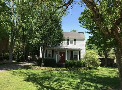 Green Hills Single Family Home For Sale: 1016 Caldwell Ln