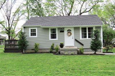 Sumner County Single Family Home Under Contract - Not Showing: 1102 Ash St