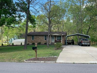 Williamson County Single Family Home Under Contract - Not Showing: 7668 Horn Tavern Rd