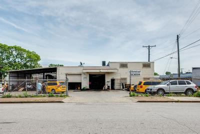 Nashville Commercial Active Under Contract: 1020 3rd Ave S