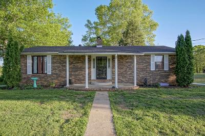 Ethridge Single Family Home Under Contract - Showing: 3351 Rhea Branch Rd