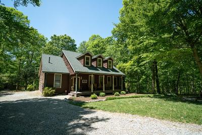 Kingston Springs Single Family Home Under Contract - Showing: 1275 Simms Heights Rd