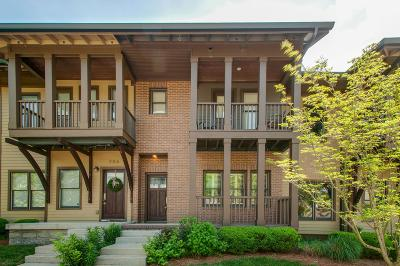 Nashville Condo/Townhouse For Sale: 204 36th Ave N