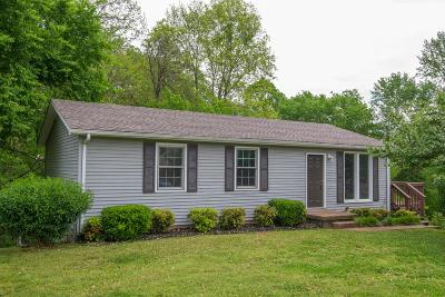 Clarksville Single Family Home Under Contract - Showing: 2445 Whitfield Rd