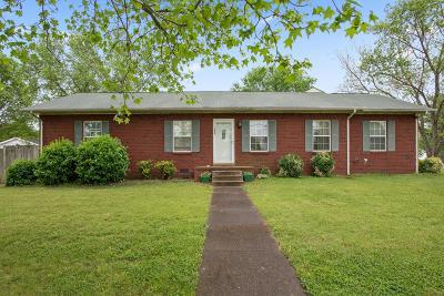 Murfreesboro Single Family Home For Sale: 1055 Veterans Pkwy