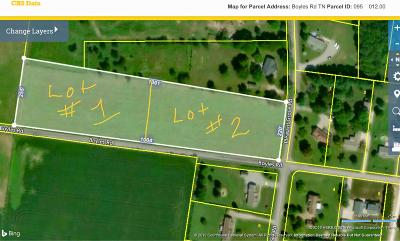 Robertson County Residential Lots & Land For Sale: Boyles Rd. Lot