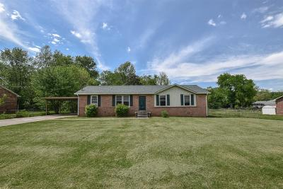 Clarksville Single Family Home Under Contract - Showing: 2423 Pendleton Dr