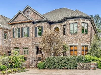 Belle Meade Condo/Townhouse For Sale: 135 B Woodmont Blvd