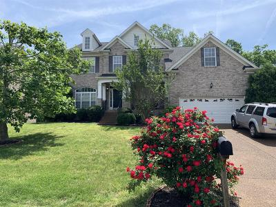 Mount Juliet Single Family Home Under Contract - Not Showing: 2007 Arden Ct