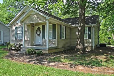 Robertson County Single Family Home For Sale: 511 Hayes St