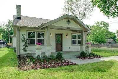 Nashville Single Family Home Active Under Contract: 1203 Stockell