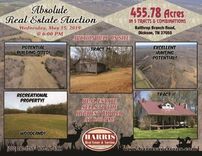 Dickson Residential Lots & Land For Sale: Balthrop Branch Rd