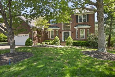 Franklin  Single Family Home Active Under Contract: 604 Grange Hill Ct