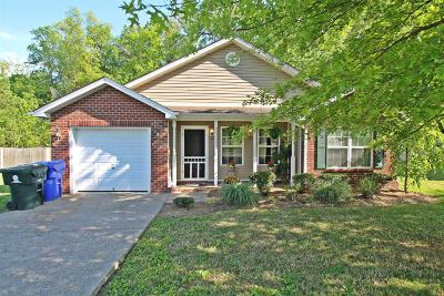 Robertson County Single Family Home Under Contract - Not Showing: 120 Sundance Way