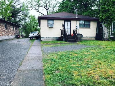 East Nashville Multi Family Home Under Contract - Not Showing: 1411 Douglas Ave
