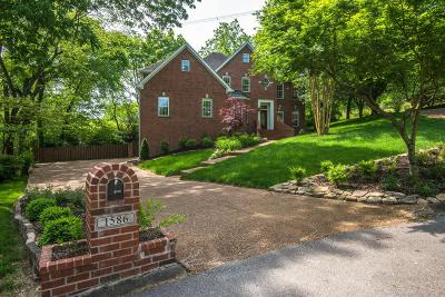 Brentwood Single Family Home Under Contract - Not Showing: 1586 Fawn Creek Ct