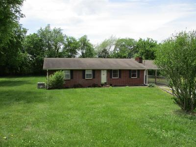 Watertown TN Single Family Home Under Contract - Not Showing: $180,000