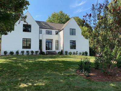 Nashville Single Family Home For Sale: 107 W Tyne Dr