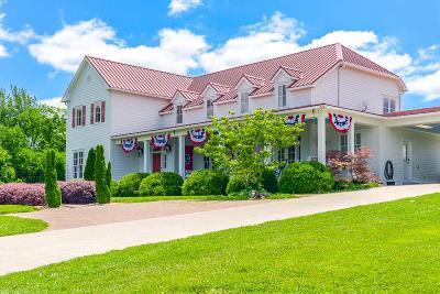 Shelbyville Single Family Home For Sale: 598 Bottle Hollow Rd
