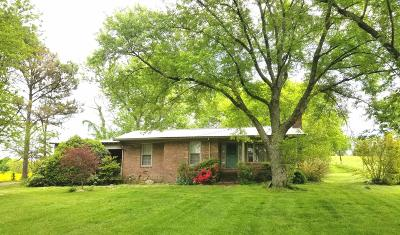 Eagleville Single Family Home Under Contract - Not Showing: 817 Cheatham Springs Rd