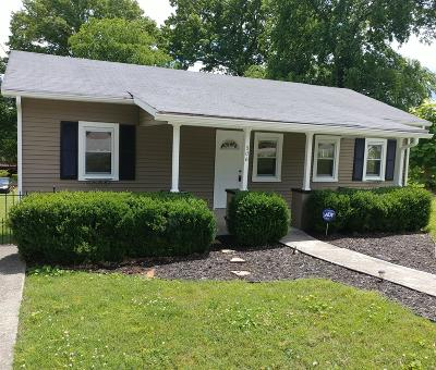 Old Hickory Single Family Home For Sale: 306 30th St