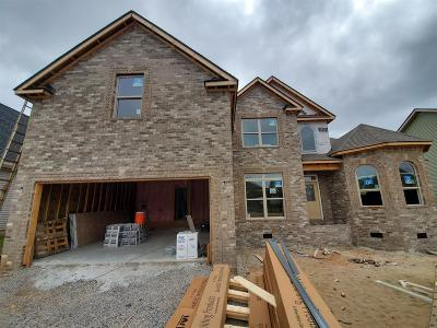 Clarksville Single Family Home Active Under Contract: 65 Griffey Estates