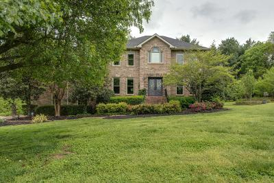 Franklin Single Family Home Under Contract - Showing: 1001 Cedarview Ln
