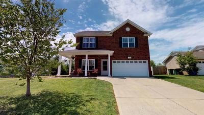 Spring Hill  Single Family Home Under Contract - Showing: 5013 Morning Dove Ln
