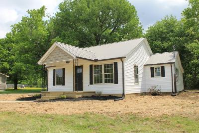 Bradyville Single Family Home Under Contract - Showing: 7161 Jim Cummings Hwy