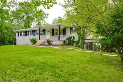 Kingston Springs Single Family Home Under Contract - Showing: 456 W Kingston Springs Rd