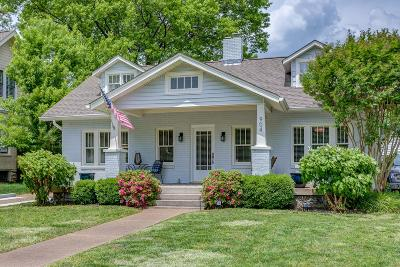 Nashville Single Family Home Under Contract - Showing: 904 Bradford Ave