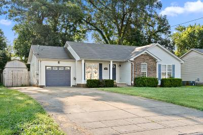 Clarksville Single Family Home Active Under Contract: 3459 Sandpiper Dr