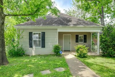 Nashville Single Family Home Under Contract - Showing: 3506 Elkins Ave